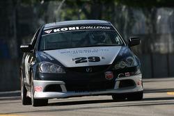 #29 Bill Fenton Motorsports Acura RSX - S: Bill Fenton, Bob Beede