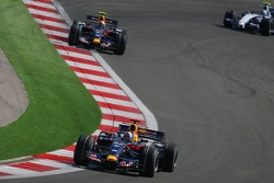 David Coulthard, Red Bull Racing, RB3 and Mark Webber, Red Bull Racing, RB3
