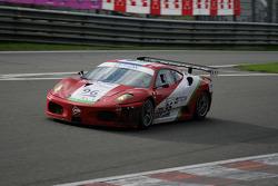 Eau Rouge: #96 Virgo Motorsport Ferrari F430 GT: Robert Bell, Allan Simonsen