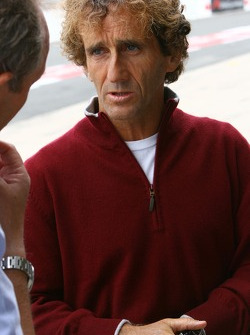 Alain Prost, Father of Nicolas Prost, driver of A1 Team France