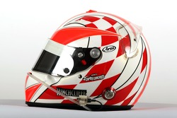 James Hinchcliffe, driver of A1 Team Canada, Helmet