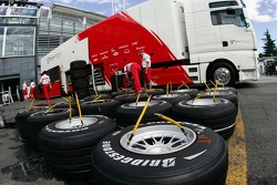 Toyota F1 Team, Bridgestone Tyres