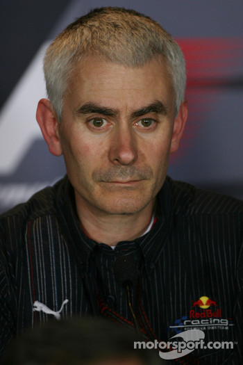 FIA press conference: Geoff Willis, Red Bull Racing, Technical Director