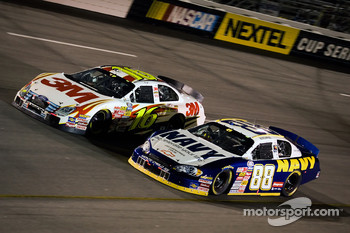 Brad Keselowski and Greg Biffle battle