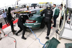 Aston Martin Racing BMS team members at work