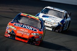 Jeff Gordon leads Regan Smith