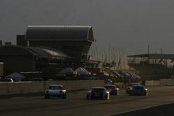 #26 Alegra Motorsports/ Fiorano Racing Porsche GT3 Cup: Carlos de Quesada, Louis-Philippe Dumoulin, Kris Wilson, #3 Southard Motorsports Lexus Riley: Shane Lewis, Eric Lux