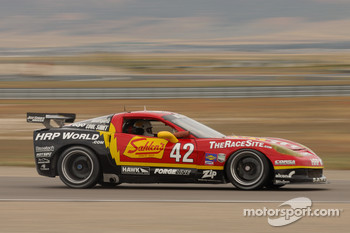 #42 Team Sahlen Corvette: Joe Sahlen, Will Nonnamaker, Wayne Nonnamaker