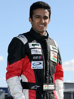 Parthiv Sureshwaren, driver of A1 Team India
