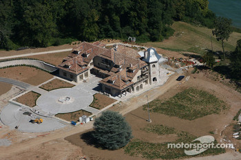 Visit of Michael Schumacher's house in Gland