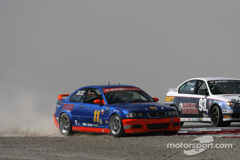 #11 Southwest Racers Group BMW M3: Mike Halpin, Robert Chase misses the corner