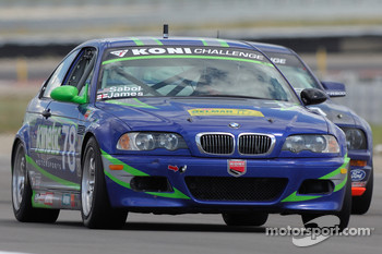 #78 Kinetic Motorsports BMW M3: Ian James, Derek Sabol