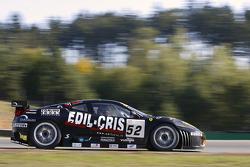 #52 Racing Team Edil Cris Ferrari 430 GT2: Maurizio Mediani, Paolo Ruberti