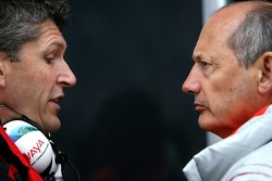 Ron Dennis, McLaren, Team Principal, Chairman, Nick Fry, Honda Racing F1 Team, Chief Executive Officer