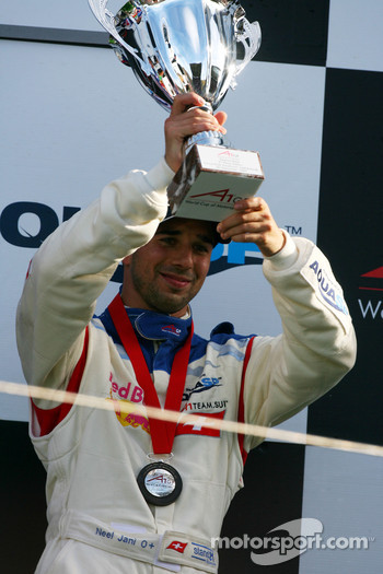 Podium, Neel Jani, driver of A1 Team Switzerland