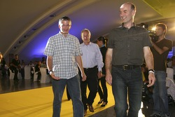 Paul Jackson, iSport International collects his award with Gavin Jones and Richard Selwin