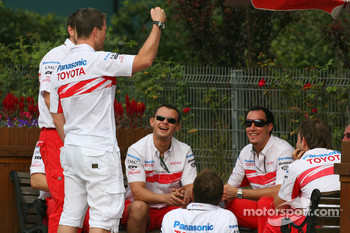 Ralf Schumacher, Toyota Racing with Toyota team mates