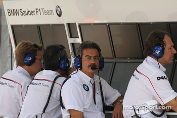 BMW Sauber F1 Team, Pitwall