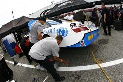 unicef Toyota crew members at work