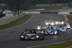 First lap: #26 Andretti Green Racing Acura ARX-01a Acura: Bryan Herta, Vitor Meira, Tony Kanaan