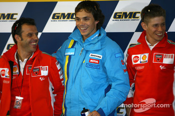 Press conference: Loris Capirossi, Chris Vermeulen and Casey Stoner