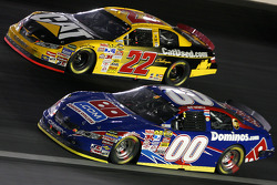 David Reutimann races Dave Blaney