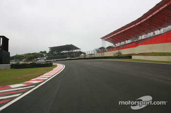 Interlagos track walk