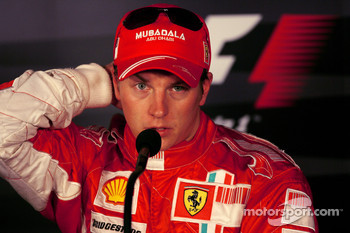 FIA press conference: third place Kimi Raikkonen