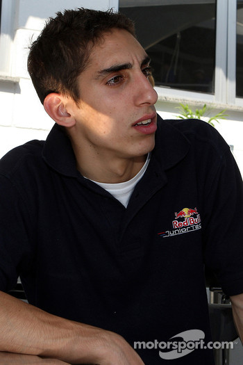 Red Bull Junior driver Sebastien Buemi, ASL Mücke Motorsport, Dallara F305 Mercedes