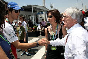 Bernie Ecclestone and guests