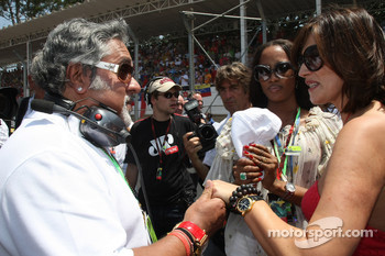 Dr Vijay Mallya, Kingfisher , Naomi Campbell, Supermodel and Slavica Ecclestone, Wife to Bernie Ecclestone