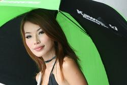 Kawasaki Racing girl