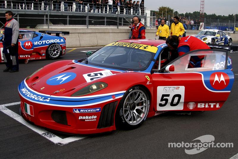 AF Corse Motorola Ferrari 430 GT2: Toni Vilander, Dirk Müller
