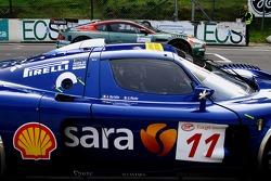 Scuderia Playteam Sarafree Maserati MC 12 GT1: Andrea Bertolini, Andrea Piccini