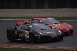 Coppa Shell race 1: P. Kralev and T. Jaeger