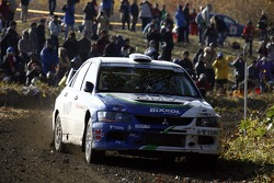 Claudiu David and Mihaela Beldie, OMV Mitsubishi Lancer Evo 9 Gr. N