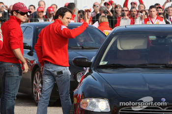 Felipe Massa and his brother