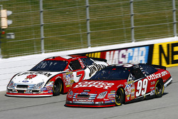 Carl Edwards and Robby Gordon