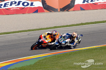 Marco Melandri and Nicky Hayden