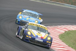 #92 Thierry Perrier Porsche 997 GT3 RSR: Philippe Hesnault, John Hartshorne, Rob Barff, Thierry Perrier