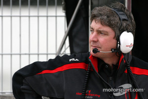 Ferrari's new Track Engineer Steve Clark