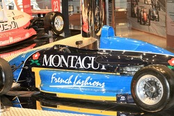 Macau Grand Prix Museum - celebrating 25 years of the F3 Macau Grand Prix: David Coulthard's car in the museum