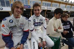 Jens Klingmann, Eifelland Racing and Christian Vietoris, Test Driver, BMW Sauber F1 Team