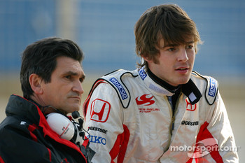 Jacky Eeckelaert, Honda Racing F1 Team, Chief Engineer, James Rossiter, Test Driver, Super Aguri F1 Team