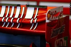 Scuderia Ferrari, rear wing detail
