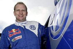Volkswagen: Timo Gottschalk, copilot of Volkswagen works driver Dieter Depping