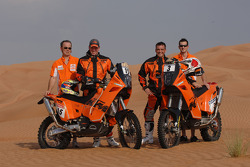 KTM: Frans Verhoeven and David Casteu