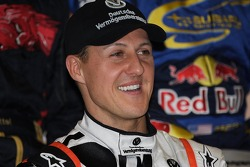 Michael Schumacher answers questions about the taxi incident
