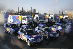 Volkswagen send-off event: Volkswagen Dakar Team at Wolfsburg