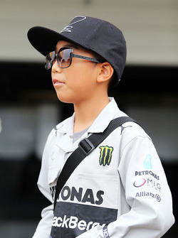 Fã Lewis Hamilton, Mercedes AMG F1